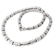 Mens Stainless Steel Calibre Necklace