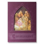Abbey Press 77129T Emmanuel Christmas Cards