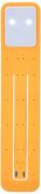 Moleskine Rechargeable Booklight, Orange Yellow
