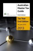 Australian Master Tax Guide 2013