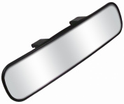 CIPA 34000 Panoramic 29.8cm Clip-On Style Rearview Mirror