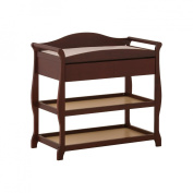 Storkcraft - Aspen Changing Table with Drawer, Cherry