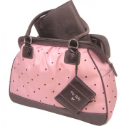 Pretty Baby - Pink Dot Frame Satchel Nappy Bag