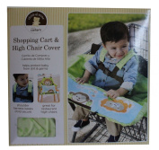 Child of Mine Shopping Cart and High Chair Cover, Neutral