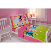 Lalaloopsy Sew Cute 4-Piece Toddler Bedding Set