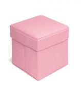 Badger Basket - Folding Storage Seat, Pink