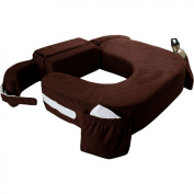 My Brest Friend - Twins Deluxe Feeding and Nursing Slipcover, Chocolate