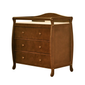 Athena Grace 3 Drawer Changing Table - Espresso