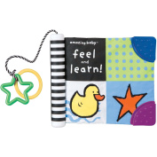 "Kids Preferred - Amazing Baby ""Feel and Learn!"" Soft Book"