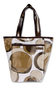 Trend Lab Bubbles Mini Tulip Tote in Brown