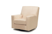 Harmony Kids Devon Glider with Optional Ottoman - Beige