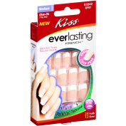 Kiss Everlasting French Nail Kit, 24ct