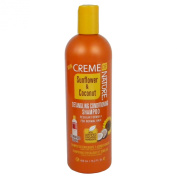 CR.ME OF NATURE Sunflower & Coconut Detangling Conditioning Shampoo Regular Formula for Normal Hair 15.2oz/450ml
