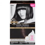 John Frieda Precision Foam Hair Colour, 4PBN Dark Cool Espresso Brown