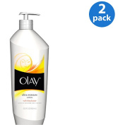 Olay Quench Ultra Moisture With Shea Butter & Vitamins E & B3 For Extra Dry Skin Body Lotion 590ml, 2pk