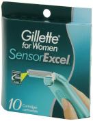 Gillette Sensor Excel for Women, 10ct
