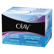 Olay 5.1cm -1 Daily Facial Cloths For Combination/Oily Skin, 33 Count