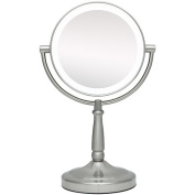 Zadro Next Generation LED Cordless Double Sided 23cm Round Vanity Mirror