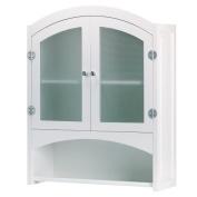 SWM 35013 Wood Bathroom Wall Cabinet - White