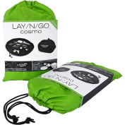 Layngo COSMO Cosmetic Bag, Lime Green