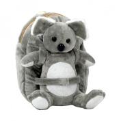 Tag Along Teddy Small Plush Koala Backpack