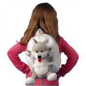 Tag Along Teddy Small Plush Dog Backpack