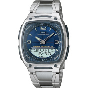 Casio Men's Ana-Digi Watch, Stainless Steel