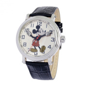 Disney Mens ''Vintage'' Mickey Mouse Strap Watch