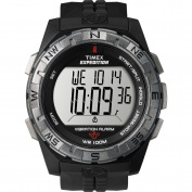 Timex Men's Expedition Rugged Combo Watch, Black Resin Strap