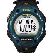 Timex Men's Ironman 30-Lap Oversize Watch, Black Nylon Strap