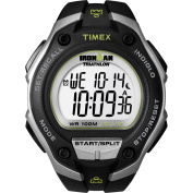 Timex Men's Ironman 30-Lap Oversize Watch, Black Resin Strap