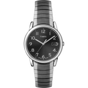 Timex Men's Easy Reader Watch, Stainless Steel Expansion Band