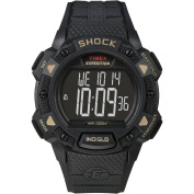 Timex Men's Expedition Shock CAT Watch, Black Resin Strap