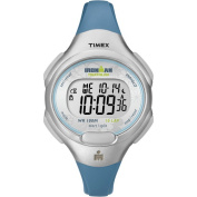 Timex Women's Ironman 10-Lap Watch, Blue Resin Strap