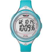Timex Women's Ironman Clear View 30-Lap Watch, Blue Resin Strap