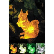 Homebrite Solar Solar Squirrel with Colour Change Lighting
