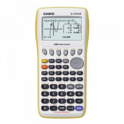 Casio Graphing Calculator - FX9750GII, Yellow
