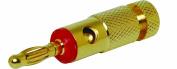 Scosche Gold SGL Banana Plug