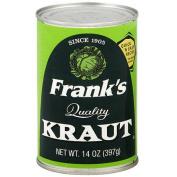 Frank's Shredded Kraut, 410ml