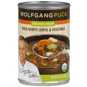 Wolfgang Puck Thick Hearty Lentil & Vegetable Organic Soup, 430ml