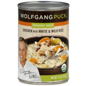 Wolfgang Puck Organic Chicken Soup with White & Wild Rice, 430ml