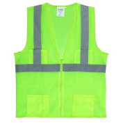 Cordova Hi Vis Reflective Safety Vest in Lime Green (Class 2) - 3XL