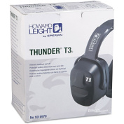 Howard Leight by Sperian Thunder Earmuffs - thunder t3 dielectric earmuff nrr 30