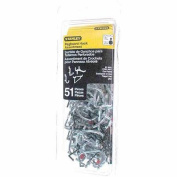 Stanley Hardware 819841 51-Piece Pegboard Hook Assortment