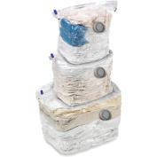 Honey-Can-Do VAC-01301 3 Pack Combo Set Vacuum Cubes