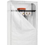 Honey Can Do WRD-01898 46 in. Storage Wardrobe with top shelf