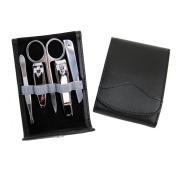 Royce Leather Flip Manicure Set