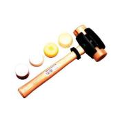 Garland Mfg Split Head Hammers - size 3 split-head rawhide hammer