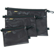 Sandpiper of California Large Organisational Quick Pack Flash Pouches in Black