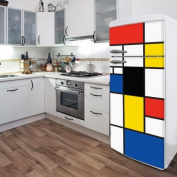 ADZif Domo Pop Mondrian Wall Decal
